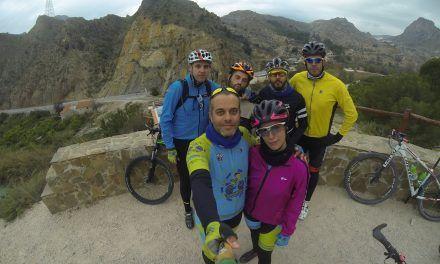Crónica de la ruta MTB Molina Ulea Salto Novia Sierra Navela Martillo