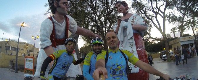 Muñecos gigantes en Murcia