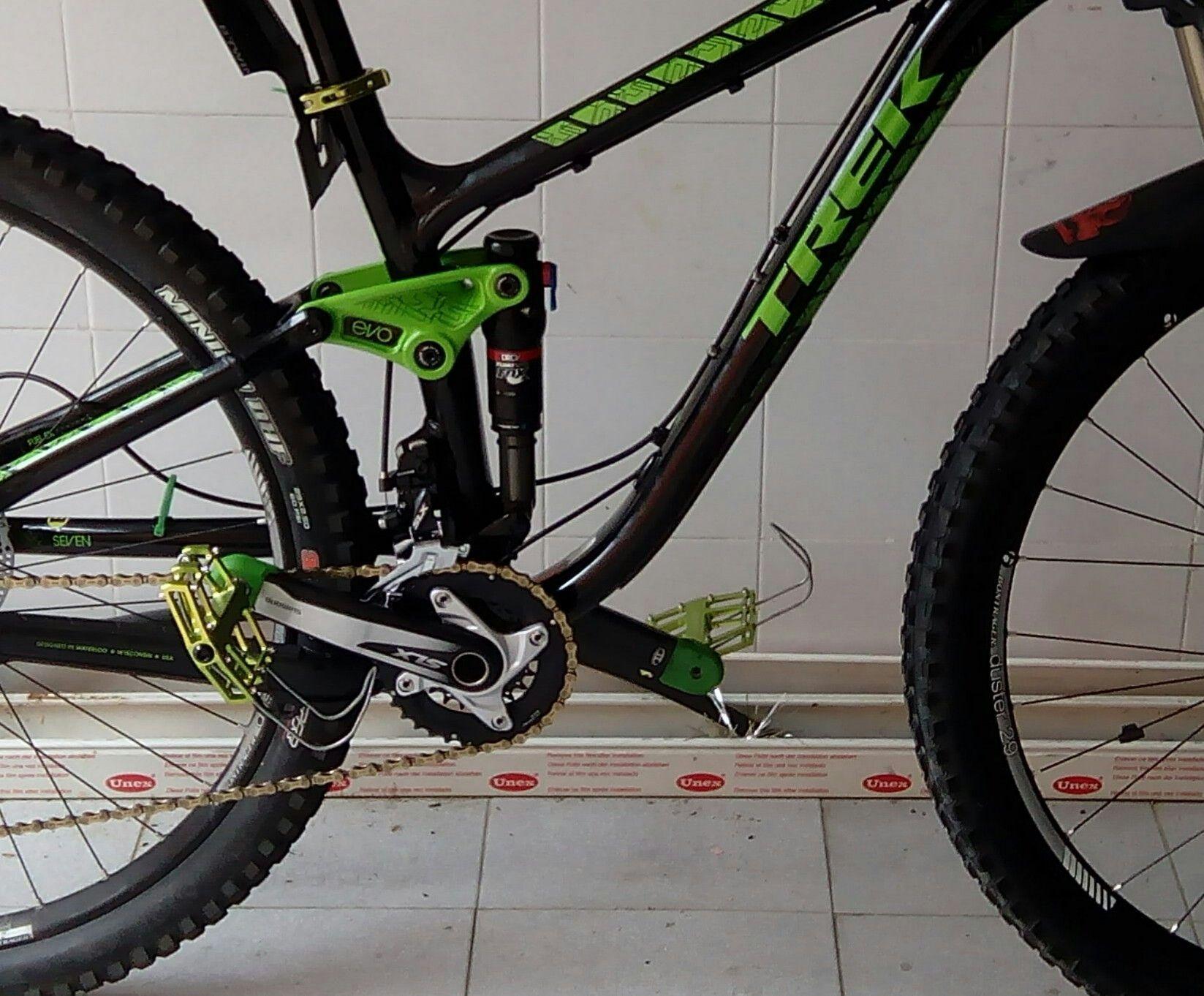 Bicicletas de doble suspensión (dobles) o bicicletas rígidas (simples)