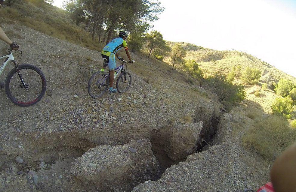 Crónica ruta MTB Molina Vía Verde Agridulce Ribera de Molina Subida Pólvora Bajada Rambla Pinchas Contraparada Subida Enagas Guadalupe Maciascoque