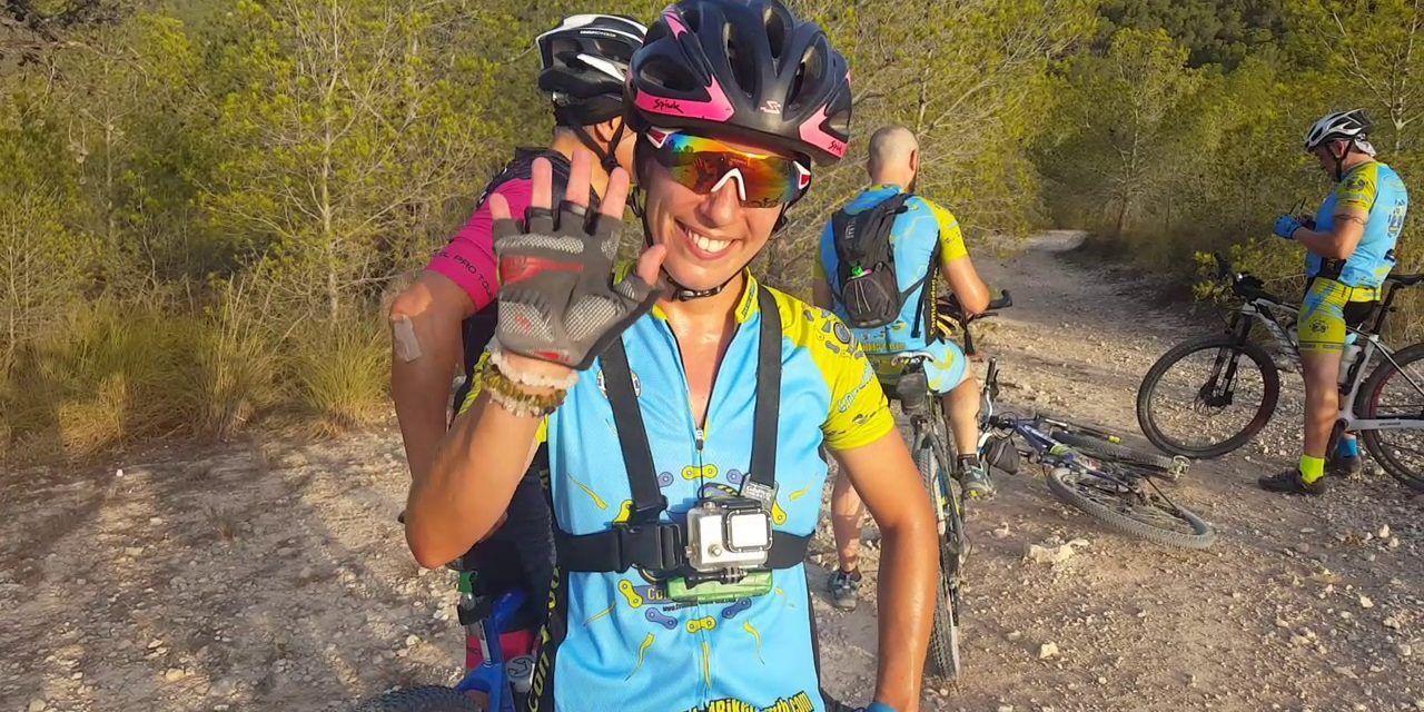 Crónica ruta MTB Archena Ulea Ojós Ricote Cajal Mayés Sierra Muela por Patricia Carmona