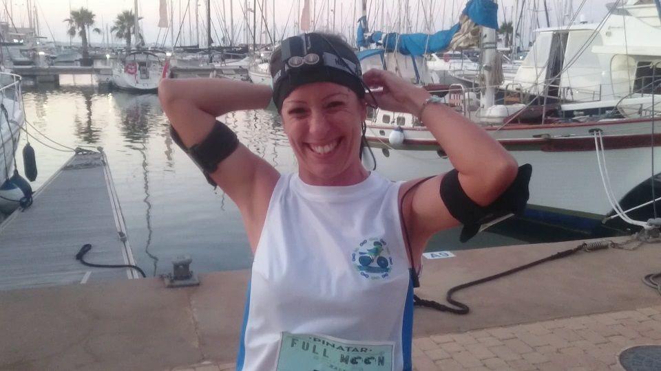 Crónica carrera running Full Moon Pinatar en San Pedro del Pinatar por Patricia Carmona