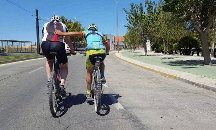Crónica ruta MTB de reinserción de viejos ciclistas a Orihuela por orilla río Segura