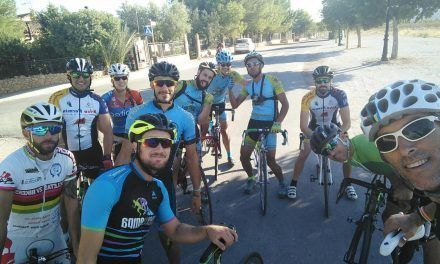 Crónica ruta ciclismo carretera Murcia Alhama Gebas Pliego Mula Archena Alcantarilla Murcia por Natalia