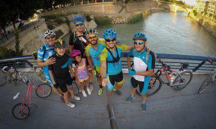 Crónica ruta MTB de iniciación al ciclismo de montaña por la orilla del Río Segura y contraparada
