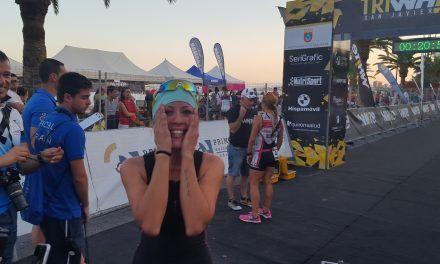 Crónica de mi primer triatlón San Javier TriWhite en Murcia por Patricia Carmona