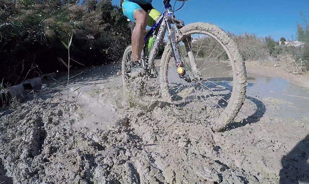 Crónica ruta MTB Molina Vía Verde Alguazas Campos Río Albudeite Sierra Muela Río Mula Humedal Los Rodeos Ruta Cabezo Barril