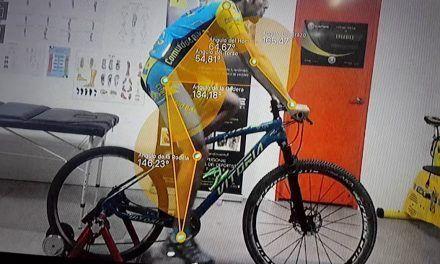 Estudio de biomecánica de bicicleta a comunitario Paquito206 por Ergobike