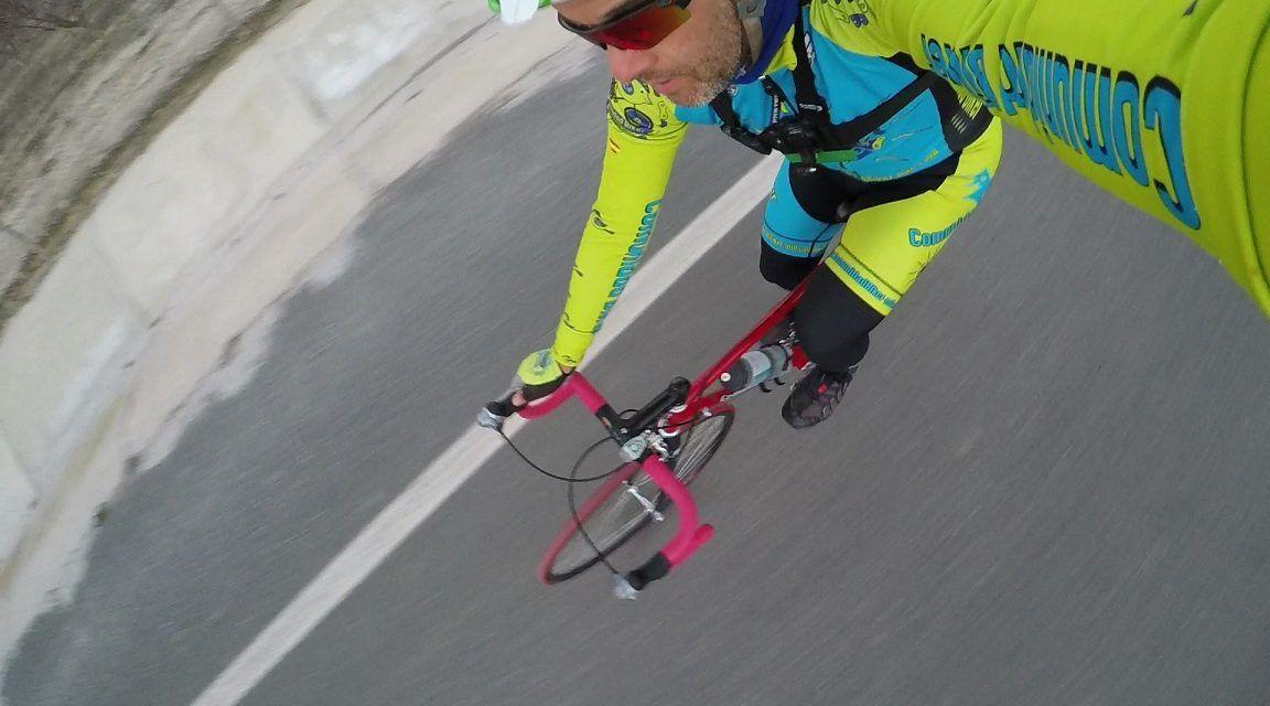 Crónica de mi primera ruta de ciclismo de carretera por El Rellano y la Estación de Blanca