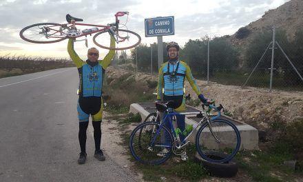 Crónica ruta de ciclismo de carretera Molina Campotéjar Trasvase Comala Espada Hoya del Fenazar Fenazar Subida Repetidor