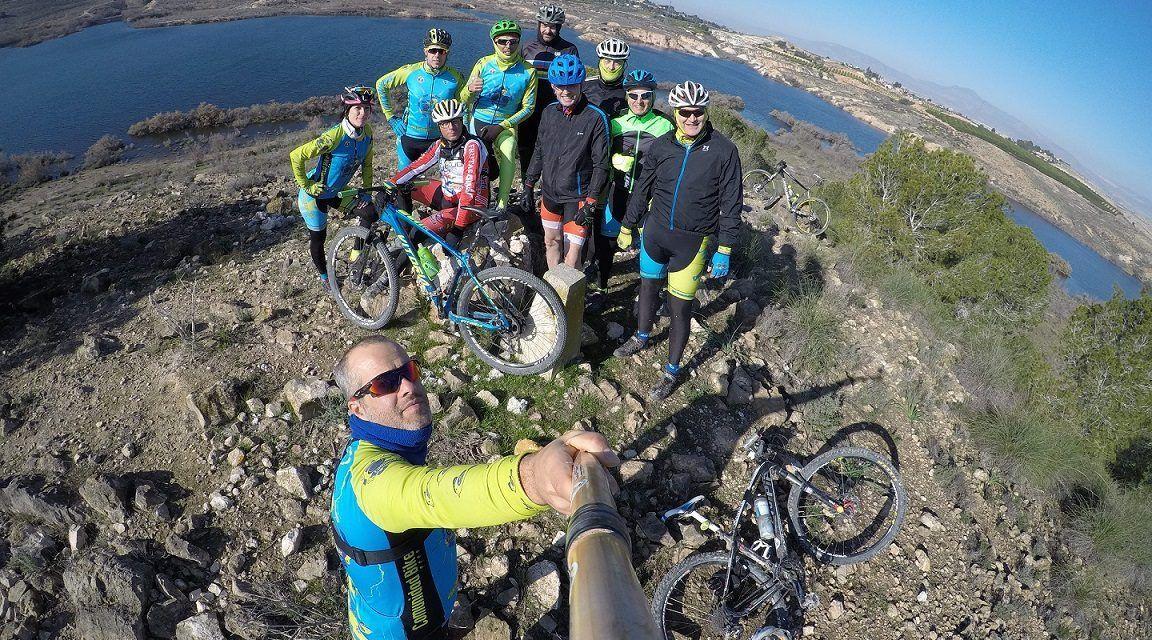 Crónica ruta MTB Molina Salinas Corredor Verde Sureste Alcayna Coto Cuadros Calvario Chico Rambla Madre Embalse Santomera Mirador Flamencos Camino Perdices y Conejos