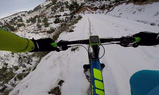 Crónica Ruta MTB con nieve y barro por la Sierra de La Pila