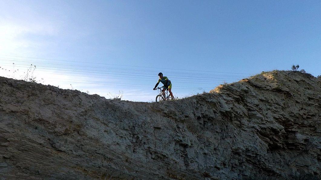 Crónica ruta MTB Molina Casa Ros Sendas y Ramblas de Molina de Segura entrenando la técnica de ascenso y descenso