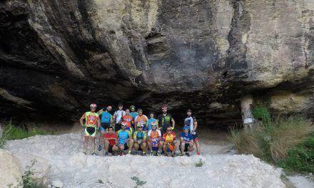 Crónica ruta MTB Iniciación jóvenes comunitarios por Fortuna Rambla Ajauque Cueva Negra Balneario Romano