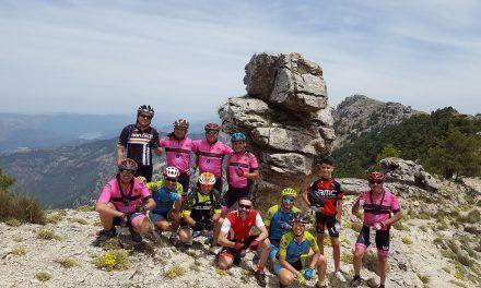 Crónica ruta MTB Jaén Pontones Nacimiento Segura Campos Hernán Perea y Espino Pico Banderillas en Sierra de Segura