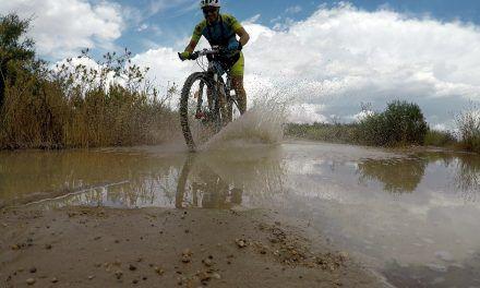 Crónica ruta MTB Molina Coto Cuadros Senda Perro Antenas Embalse Vuelta por la Cola Lluvia y granizo regreso por Infierno y Rambla Monjas