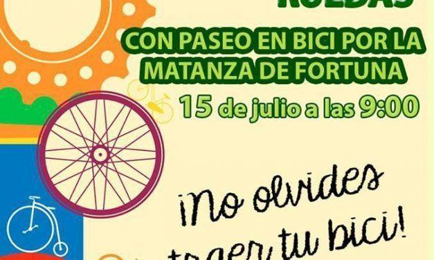 Primer taller de conocimientos básicos sobre ruedas con paseo en bici por La Matanza de Fortuna