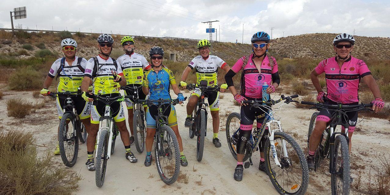Crónica quedada MTB por las Torres de Cotillas con los Arrastraculos y Ciclos Sarabia