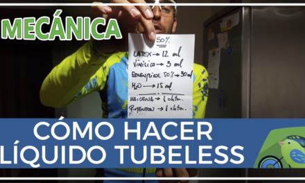 Vídeo |  Cómo hacer líquido sellante para tubeless casero NoTubes antipinchazos