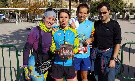 Crónica de la ruta de Ciclismo Carretera Murcia con grabación carrera 5k de Alino y María
