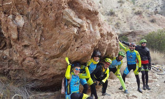 Crónica de la ruta MTB Sierra Espada Hurona Rambla Chorro Hortichuela Hoya Marzo Rellano Parque Vicente Blanes Pedrera Coloraos La Poza
