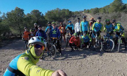 Crónica de la Ruta MTB Molina Coto Cuadros Calvario Grande Senda Tapada Espinardo Vía Verde