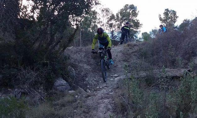 Crónica de la ruta MTB Sierra de la Pila Senda Toboganes Senda Caballerizas Senda Aljibe Peña Roja Senda Esparto Puerto Frío Garapacha
