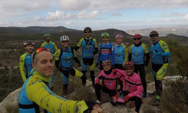 Crónica de la ruta MTB Sierra de la Pila Senda Caballerizas Pico Pelao Pino de la Muela en día de Nochebuena