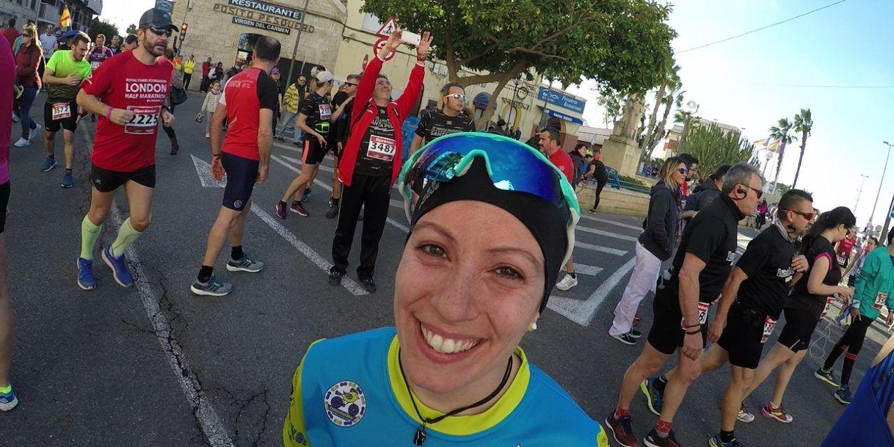 Mi primera media maratón en Santa Pola por Patricia Carmona
