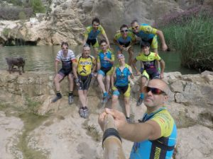 Fuente Caputa en Rambla de Perea en Yéchar por Comunidad Biker MTB