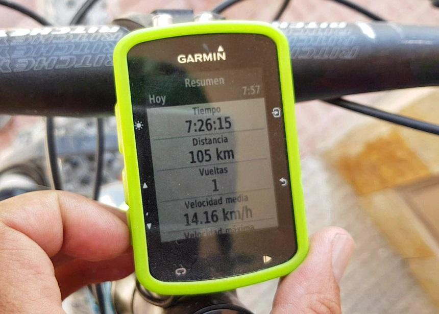 Opciones para grabar las rutas que realizamos en ciclismo de montaña, de carretera y senderismo o running