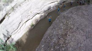 Gragantas profundas del río Chícamo en el Cajel en Abanilla por Comunidad Biker MTB