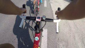 A rueda de Kronxito en ciclismo de carretera por Comunidad Biker MTB