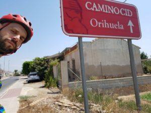 Entrada a Orihuela Camino Cid por Comunidad Biker MTB