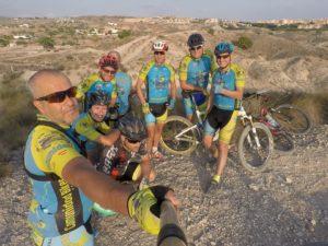 Ruta de ciclismo de montaña por el Altorreal y las Salinas por Comunidad Biker MTB