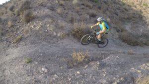 Ruta rompepiernas con sube y baja por Casa Ros y Los Vientos por comunitario Matías por Comunidad Biker MTB