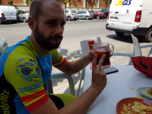 Dos tintos de verano en ruta de ciclismo de carretera por Comunidad Biker MTB