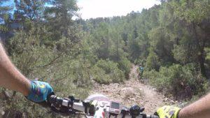 Descenso MTB BTT Senda de la Bola en la marcha Explosiva de la Pila por Comunidad Biker MTB
