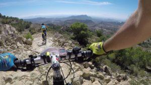 Descenso MTB BTT técnico en Senda de la Solana en la marcha BTT Explosiva de la Pila por Comunidad Biker MTB