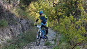 Senda del Lavadero en la Garapacha en la Explosiva de la Pila 2018 por Comunidad Biker MTB