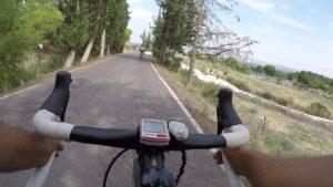 Descenso rápido en ciclismo de carretera por Sierra Espuña por Comunidad Biker MTB