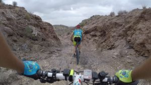 Sendero de los Cordeles en sierra de Lúgar por Comunidad Biker MTB