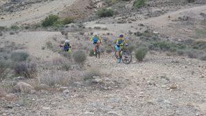 Ascenso técnico en ciclismo de montaña por Matías y Patricia Carmona en el Tomillar por Comunidad Biker MTB