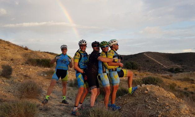 Crónica de la ruta de MTB BTT Salinas de Molina y otros sitios raros con el guía Patrick