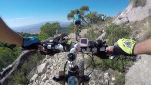 Ruta de ciclismo de montaña por el sendero del Aguilucho en la sierra de Ricote por Comunidad Biker MTB