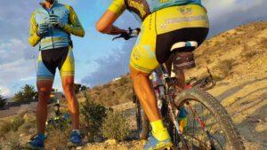 Ascenso técnico en el Tomillar en ciclismo de montaña por Comunidad Biker MTB