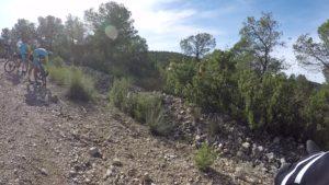 Medalla de un puesto de montería en Monte de los Gavilanes por Comunidad Biker MTB