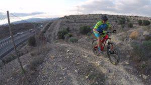 Ascenso de las 3J en el Circuito Demoníaco de Patrick en las Salinas por Comunidad Biker MTB