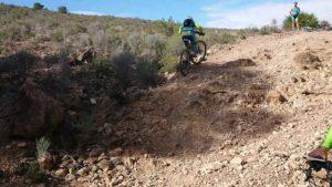 Ascenso técnico MTB BTT BXM por Coto Cuadros por comunitario Alonsojpd por Comunidad Biker MTB