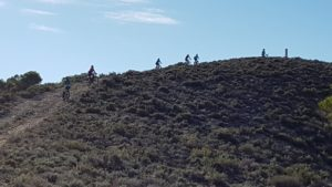 Ascenso técnico de cerro en Cañada Hermosa por Comunidad Biker MTB